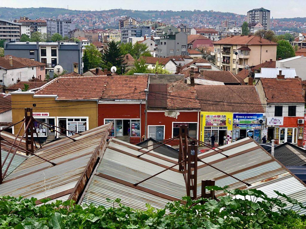 Pano of city of Niš