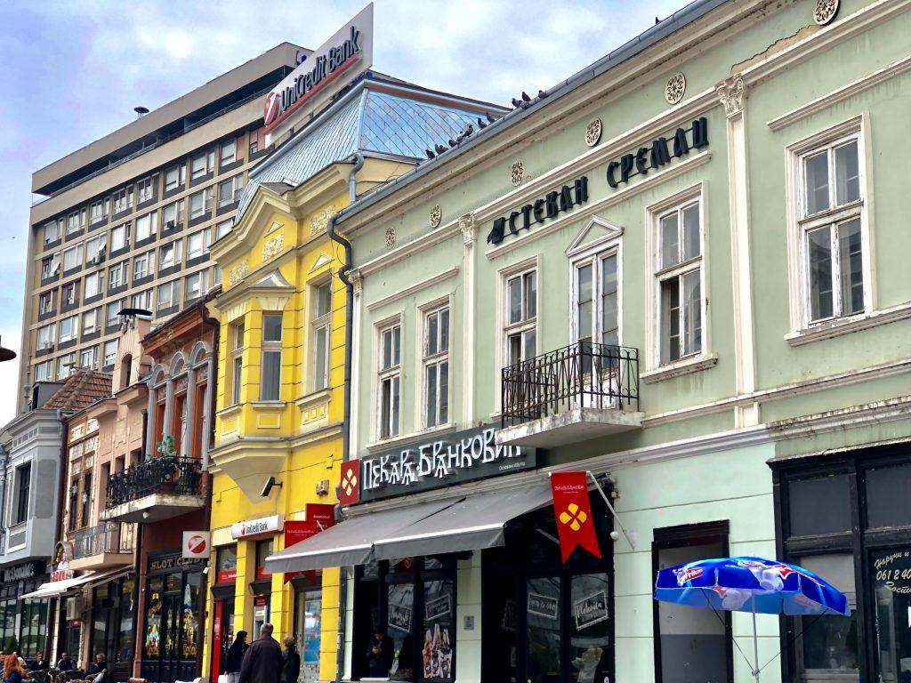 Main street in Niš